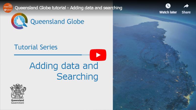 Queensland Globe - Help